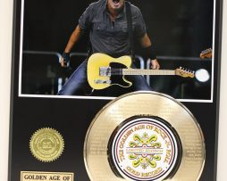 BRUCE-SPRINGSTEEN-GOLD-RECORD-LIMITED-EDITION-LASER-ETCHED-WITH-SONGS-LYRICS-181448586388