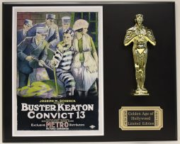 BUSTER-KEATON-CONVICT-13-LTD-EDITION-OSCAR-MOVIE-DISPLAY-FREE-SHIPPING-181467145018