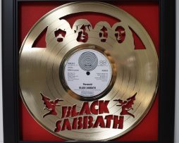 Black-Sabbath-Ozzy-2-Framed-Laser-Cut-Gold-Plated-Vinyl-Record-Shadowbox-Wallart-172387402868