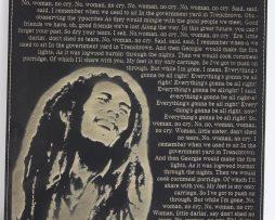 Bob-Marley-Laser-Etched-Lyric-Band-Art-Black-Leatherette-Plaque-C3-182261031998