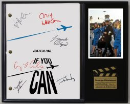 CATCH-ME-IF-YOU-CAN-LTD-EDITION-REPRODUCTION-MOVIE-SCRIPT-CINEMA-DISPLAY-C3-182067066808