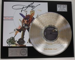 DOLLY-PARTON-PLATINUM-LP-RECORD-DISPLAY-ETCHED-W-LYRICS-TO-9-TO-5-181461405658