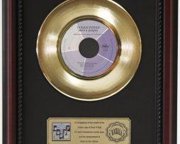 DURAN-DURAN-SAVE-A-PRAYER-GOLD-RECORD-CUSTOM-FRAMED-CHERRYWOOD-DISPLAY-K1-182089307908