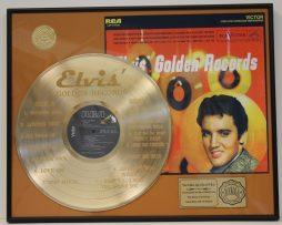 ELVIS-PRESLEY-CUSTOM-FRAMED-GOLD-CLAD-RECORD-DISPLAY-LTD-EDITION-SHIPS-US-FREE-171064512608