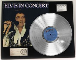 ELVIS-PRESLEY-ELVIS-IN-CONCERT-PLATINUM-LP-LTD-EDITION-RECORD-DISPLAY-181319185328