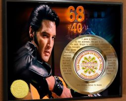 ELVIS-PRESLEY-ETCHED-WITH-LYRICS-TO-RETURN-TO-SENDER-POSTER-ART-GOLD-RECORD-181466458778