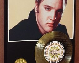 ELVIS-PRESLEY-GOLD-45-RECORD-LIMITED-EDITION-LASER-ETCHED-WSONGS-LYRICS-181447308328