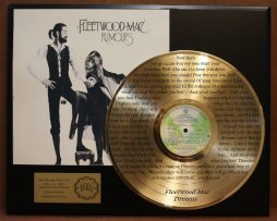 FLEETWOOD-MAC-LIMITED-EDITION-GOLD-LP-RECORD-LASER-ETCHED-W-LYRICS-TO-DREAMS-181003498558