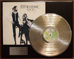 FLEETWOOD-MAC-PLATINUM-LP-RECORD-LASER-ETCHED-LYRICS-FREE-FAST-U-S-SHIPPING-170941917938