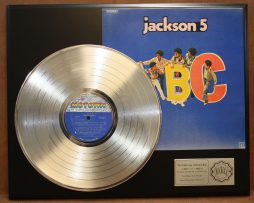 JACKSON-5-PLATINUM-LP-RECORD-DISPLAY-ACTUALLY-PLAYS-THE-SONG-ABC-SHIP-US-FREE-171016603578