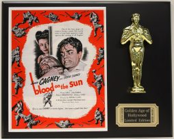 JAMES-CAGNEY-BLOOD-ON-THE-SUN-LTD-EDITION-OSCAR-MOVIE-DISPLAY-FREE-SHIPPING-181467135618