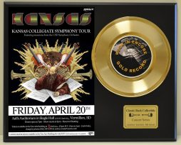 KANSAS-LTD-EDITION-CONCERT-POSTER-SERIES-GOLD-45-DISPLAY-SHIPS-FREE-2-181234607538