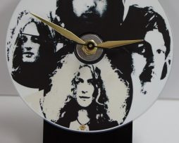 LED-ZEPPELIN-2-PICTURE-CD-DESK-CLOCK-WITH-BLACK-ACRYLIC-BASE-172151924528