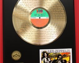 LED-ZEPPELIN-24KT-GOLD-LP-RECORD-DISPLAY-ACTUALLY-PLAYS-STAIRWAY-TO-HEAVEN-181113947018