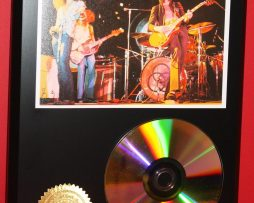LED-ZEPPELIN-24kt-GOLD-CDDISC-COLLECTIBLE-RARE-AWARD-QUALITY-PLAQUE-GIFT-180877462428