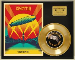 LED-ZEPPELIN-LTD-EDITION-CONCERT-POSTER-SERIES-GOLD-45-DISPLAY-171347820528