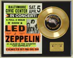 LED-ZEPPELIN-LTD-EDITION-CONCERT-POSTER-SERIES-GOLD-45-DISPLAY-SHIPS-US-FREE-171145231568