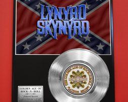 LYNYRD-SKYNYRD-PLATINUM-RECORD-LTD-EDITION-RARE-COLLECTIBLE-MUSIC-GIFT-AWARD-180914305048