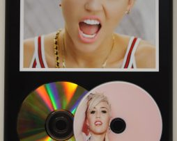 MILEY-CYRUS-2-LTD-EDITION-PICTURE-CD-24-kt-GOLD-CD-DISPLAY-SHIPS-US-FREE-171223090088