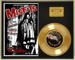MISFITS-LTD-EDITION-CONCERT-POSTER-SERIES-GOLD-45-DISPLAY-181427858718