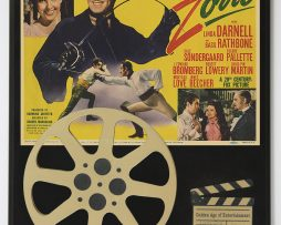 THE-MARK-OF-ZORRO-TYRONE-POWER-LIMITED-EDITION-MOVIE-REEL-DISPLAY-182178098278