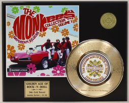 THE-MONKEES-HEY-HEY-GOLD-RECORD-LTD-EDITION-LASER-ETCHED-WITH-SONGS-LYRIC-171374977268