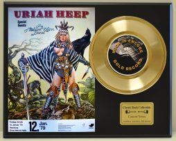 URIAH-HEEP-LTD-EDITION-CONCERT-POSTER-SERIES-GOLD-45-DISPLAY-SHIPS-FREE-181235793118