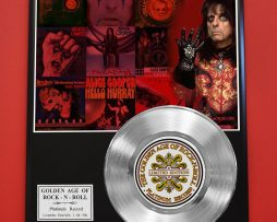 ALICE-COOPER-PLATINUM-RECORD-LIMITED-EDITION-RARE-GIFT-COLLECTIBLE-MUSIC-AWARD-170850162429