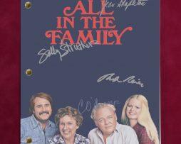 ALL-IN-THE-FAMILY-TV-SCRIPT-W-REPRODUCTION-SIGNATURES-OCONNOR-REINER-C3-182188854609