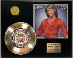 ANDY-GIBBS-SHADOW-DANCING-LTD-EDITION-GOLD-45-RECORD-SLEEVE-DISPLAY-FREE-SHIP-181435051159