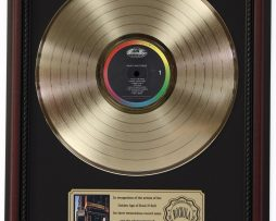 BEASTIE-BOYS-PAULS-BOUTIQUE-GOLD-LP-RECORD-FRAMED-CHERRYWOOD-DISPLAY-K1-172205674499