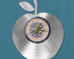 BEST-TEACHER-APPLE-CUSTOM-LASER-CUT-PLATINUM-LP-RECORD-WALL-CLOCK-FREE-SHIP-181931598869