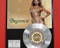 BEYONCE-PLATINUM-RECORD-LTD-EDITION-RARE-GIFT-COLLECTIBLE-MUSIC-AWARD-170850209209