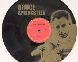 BRUCE-SPRINGSTEEN-2-BLACK-VINYL-LP-ETCHED-W-ARTISTS-IMAGE-LIMITED-EDITION-171382374499