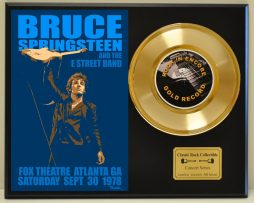 BRUCE-SPRINGSTEEN-LTD-EDITION-EDITION-CONCERT-POSTER-SERIES-GOLD-45-DISPLAY-171347797639