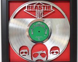 Beastie-Boys-Framed-Laser-Cut-Platinum-Vinyl-Record-in-Shadowbox-Wallart-182327976779