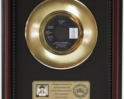 CULTURE-CLUB-KARMA-CHAMELEON-GOLD-RECORD-CUSTOM-FRAMED-CHERRYWOOD-DISPLAY-K1-182089293779