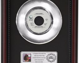 DONNA-SUMMER-THERE-GOES-MY-BABY-PLATINUM-RECORD-FRAMED-CHERRYWOOD-DISPLAY-K1-182128911509