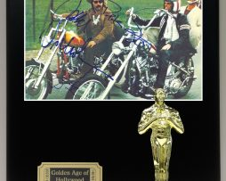 EASY-RIDER-LTD-Edition-Reproduction-Cast-Signed-8x10-Photo-Oscar-Movie-Display-171885256679