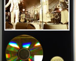 EDWARD-SHARPE-AND-THE-MAGNETIC-ZEROS-LIMITED-EDITION-24kt-GOLD-CD-DISPLAY-171376839159