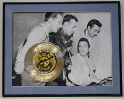 ELVIS-PRESLEY-CUSTOM-FRAMED-GOLD-CLAD-RECORD-DISPLAY-LTD-EDITION-SHIPS-US-FREE-3-181163932089