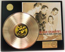 ELVIS-PRESLEY-MILLION-DOLLAR-QUARTET-GOLD-LP-LTD-EDITION-RARE-RECORD-DISPLAY-181319178919