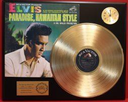ELVIS-PRESLEY-PARADISE-HAWAIIAN-STYLE-GOLD-LP-LTD-EDITION-RECORD-CLOCK-DISPLAY-171343687879