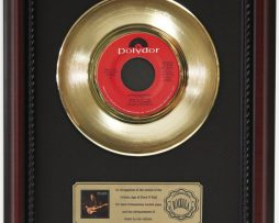 ERIC-CLAPTON-AFTER-MIDNIGHT-GOLD-RECORD-CUSTOM-FRAMED-CHERRYWOOD-DISPLAY-K1-182089328939