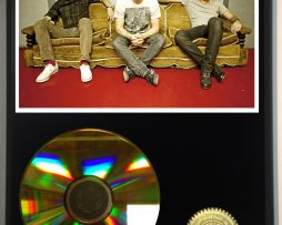 FOSTER-THE-PEOPLE-LIMITED-EDITION-24kt-GOLD-CD-DISPLAY-171376841629
