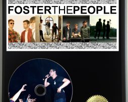 FOSTER-THE-PEOPLE-LTD-EDITION-PICTURE-CD-DISC-DISPLAY-181460554239