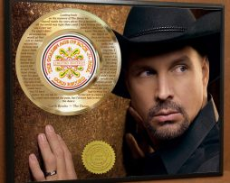 GARTH-BROOKS-LTD-LASER-ETCHED-WITH-LYRICS-TO-THE-DANCE-POSTER-ART-GOLD-RECORD-181466465049