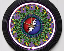 GRATEFUL-DEAD-15-PURPLE-NEON-ROCK-N-ROLL-WALL-CLOCK-K1-172219422629