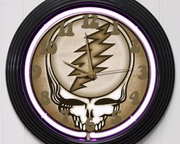 GRATEFUL-DEAD-2-15-PURPLE-NEON-ROCK-N-ROLL-WALL-CLOCK-K1-172219422599