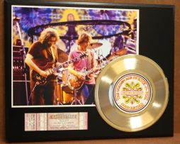 GRATEFUL-DEAD-CONCERT-TICKET-SERIES-GOLD-RECORD-LTD-EDITION-DISPLAY-181428045319